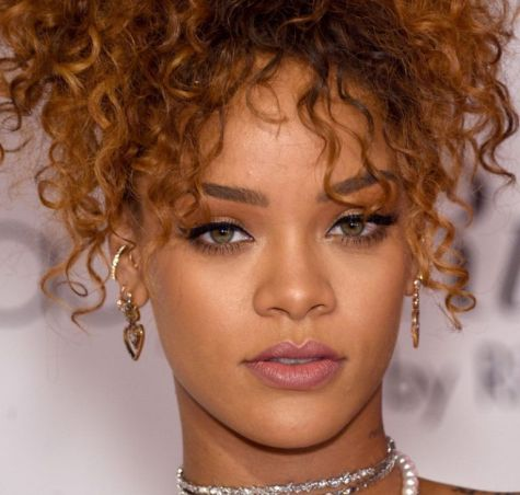 Rihanna's peaked Cupid's bow lip shape