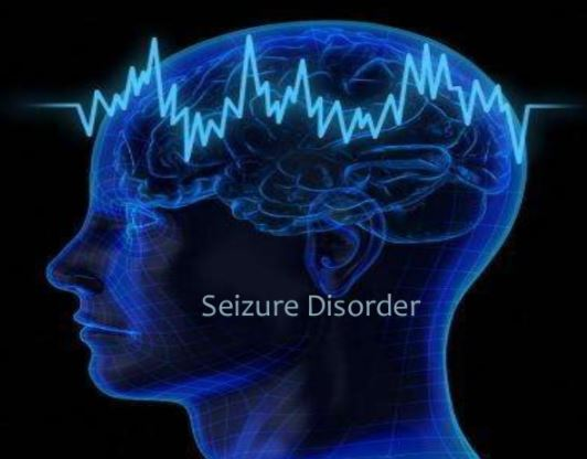Seizure disorder can cause scalp numbness